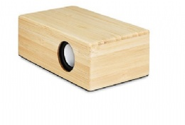 creative portable wireless speaker bamboo magic induction speaker