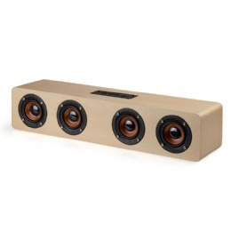 12w wood bluetooth speaker