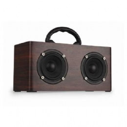 w9 portable wood bluetooth speaker