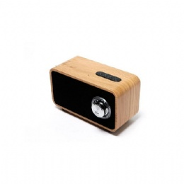 Wooden Super Bass Subwoofer Bluetooth Speaker