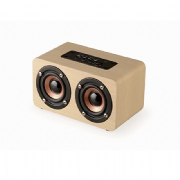 w5 wood portable wireless bluetooth speaker