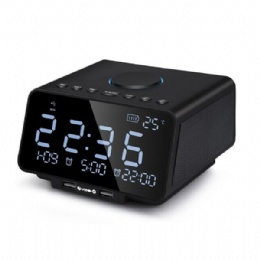 K9 Alarm Clock Radio Bluetooth Speaker